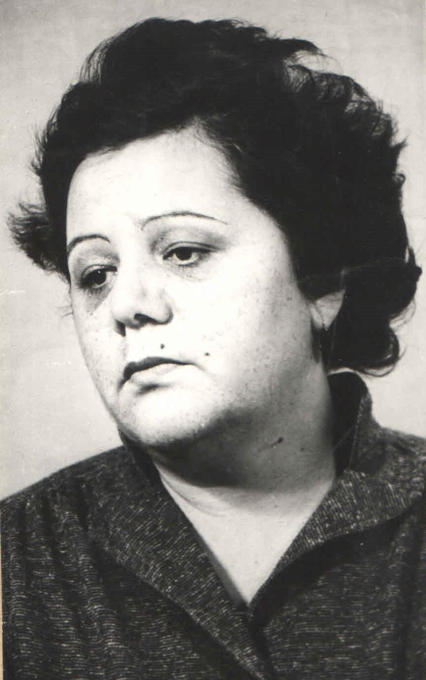 Lidia Istrati. Anul 1984. Fotografie de Nicolae Răileanu; nr. inv.: 9174; ©MNLMK